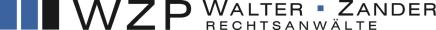 Logo WZP - Walter Zander Rechtsanwälte